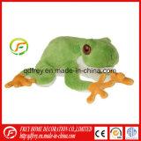 Jouet en peluche Emulational Bébé doux pour la promotion de la grenouille