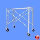 Ajustable de acero galvanizado bastidor H Escalera andamio
