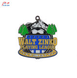 Creative Customize Logo Creek Cup Dirty Metal Medal for