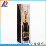 優雅な光沢のあるラミネーションの単一のワイン・ボトル包装袋