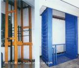 Elevatore idraulico delle merci per il magazzino