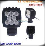 80W LED Work Light Spot/Flood voor Offroad 4X4 SUV