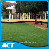 منظر طبيعيّ اصطناعيّة مرج حديقة عشب لأنّ بركة, حديقة, مدرسة, مطار