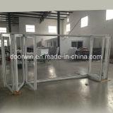 Interior de alumínio de qualidade com porta de vidro