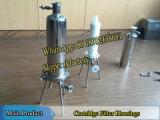 Filtergehäuse-Kassetten-Filtergehäuse des Edelstahl-(Wein)