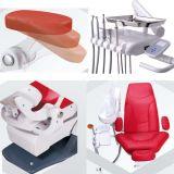 Nueva silla dental colorida paciente de lujo de la lámpara de detección del diseño LED