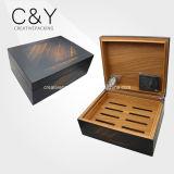 Humidor de cigarro de madera de cedro