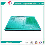 Alta capacidade de carga Praça Manhole Cover (EN124: 2015 standard)