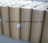 PVCによって塗られる溶接された金網(河北の工場)