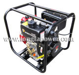 2 인치 전기 시작 7HP 화재 싸움 디젤 엔진 수도 펌프