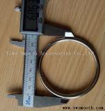 Hardware de la moda de hebilla de acero de aleación de metal Accesorios Heavy Metal Bucle para correas