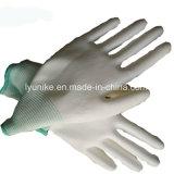 Упор для рук ИСЗ белый провод фиолетового цвета с покрытием работы защитные перчатки