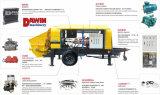 De beste Concrete Pomp van de Mengeling van de Steen van de Prijs Hbt80 Fijne Elektrische aanhangwagen-Opgezette Klaar