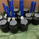 Valvola a sfera del acciaio al carbonio A216 2PC con alta pressione