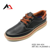 Shoe di cuoio Casual Breathable Shoes Wholesale Manufacture per Men (AKPX)