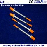 처분할 수 있는 1cc 인슐린 주사통 0.5cc 인슐린 주사통 0.3cc 인슐린 주사통 (ENK-YDS-046)
