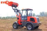 CE тавра Everun одобрил 1.2 затяжелитель колеса тонны 4WD миниый с двигателем Euroiii