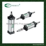 Cylindre pneumatique d'air de cylindre du cylindre ISO6431 standard