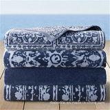100% хлопок жаккард уютный очаровательный пляж высокого качества полотенце