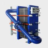 フレオンおよびアンモナル使用によって半溶接されるガスケットの版およびフレームの熱交換器