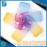 iPhone 8のための虹カラーTPU電話カバー