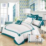 Luxury 100% algodão egípcio edredão de retalhos cobrir & Fronhas extras definidos