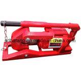 Taglierina idraulica della corda del filo di acciaio di alta qualità