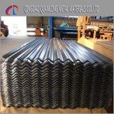 Tôle d'acier ondulée enduite de toiture de zinc de qualité