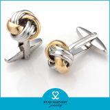 Comercio al por mayor de plata chapada en tonos de 2 Nudo gemelos (SH-BC0009)