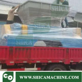 Destrancador de eixo duplo 60HP para tambor plástico de resíduo, palete de plástico e saco de plástico
