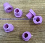 Treccia dell'allumina Al2O3 della tessile e supporto di ceramica dell'acciaio