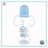 Бисфенол-А 9 унций пластиковые французский квадратных бутылочки для детского питания