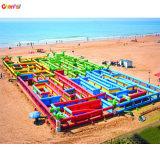 Giant Comercial jungle partie gonflable labyrinthe pour les enfants de CM3001