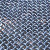 Acoplamiento de alambre tejido cuadrado prensado del hierro galvanizado/del acero inoxidable