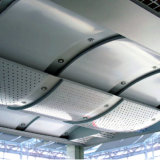 Construtionのための双曲線アークの形のアルミニウムパネル