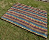 De beaux Tapis Tapis Folk-Custom pique-nique Camping