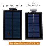Imperméabiliser 4 DEL d'éclairage extérieur solaire solaire de 200 lumière solaire de mur de mur de lumens de lumières lumières de dans-Prise de masse