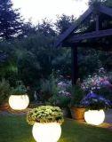 [بولرسن] مصباح [لد] خفيفة حديقة حجر رمليّ كرة فانوس