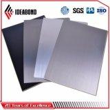 El panel de pared compuesto plástico de aluminio aplicado con brocha superficial anodizado