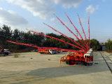 2017 Novo Dongfeng 4X2 21m caminhão bomba de concreto para a construção da Vila