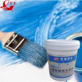 A cor azul pintura impermeável de PU Base Água