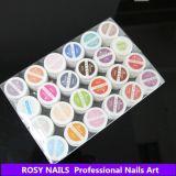 장미빛 못 직업적인 UV 색칠 젤 10ml 다채로운 UV 젤