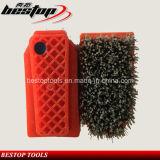 Staalborstels van het Staal van het Type van Fickert de Sterke Voor het Oppoetsen van Graniet/Marmer