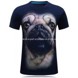 T-shirt neuf d'hommes estampé par 3D de mode de type