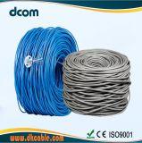 Más de 10 años fabricante de cables UTP CAT6 cable 23AWG de cobre de 2p 1000 pies de cable de red