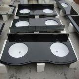 中国Polished KitchenかFurniture Absolute Black Granite/Quartz Countertop/Vanitytop