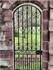 L'extérieur des portes en acier inoxydable antivol