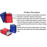 Pack de Velcro colorés déjeuner/ déjeuner/ Sac fourre-tout Refroidisseur Refroidisseur