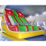 PVC 방수포 물 수영장을%s 가진 팽창식 물 미끄럼 또는 팽창식 물 미끄럼