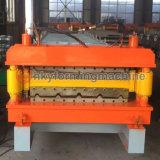 Toit line China 2016 Nervure laminée tuiles Manfacturing machine de formage de rouleau
